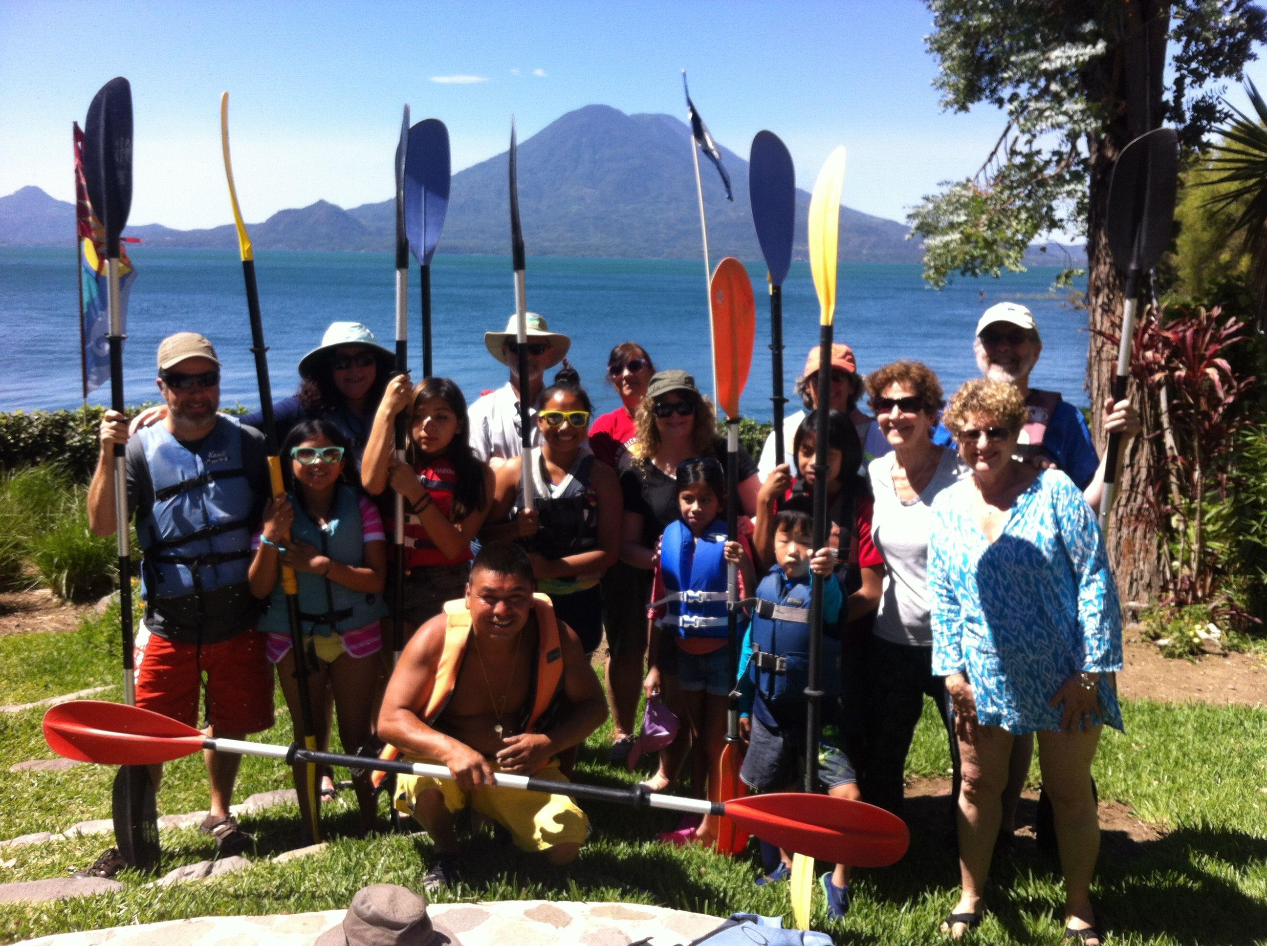 Cliff Jump - Kayak - Archery - Fun Adventure activity - Lake Atitlan